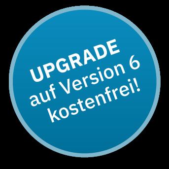 Hinweisgrafik lexican Business 6 - freies upgrade neue version